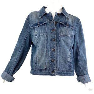 American Rag Denim Jeans Jacket With Stretch